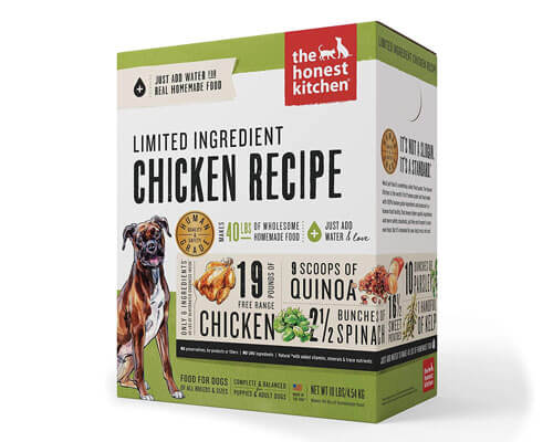 The Honest Kitchen Dehydrated Grain Free Dog Food
