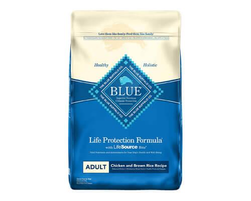 blue life dog food