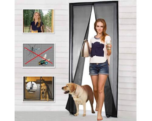 cherainti magnetic screen door, magnetic door screen