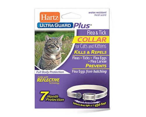 hartz flea collar, natural flea collar for cats, best flea collar for cats