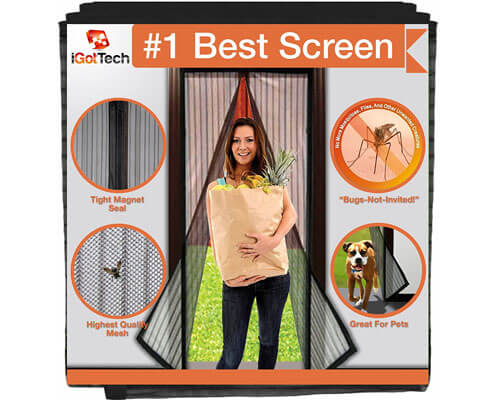 igottech magnetic screen door, magnetic screen door reviews