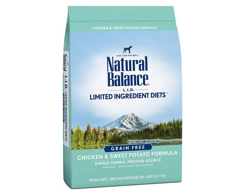 natural balance dog food reviews, best grain free dry dog food for small dogs