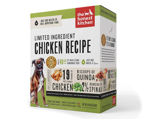 grain free small breed dog food