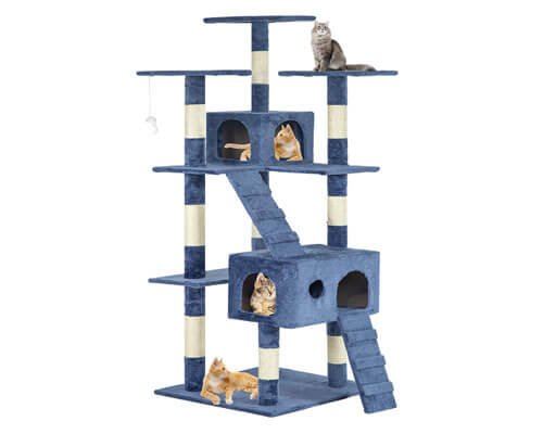 best cat scratching, cat tree condo for large cats