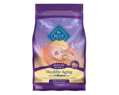 blue buffalo cat food, soft dry cat food for older cats