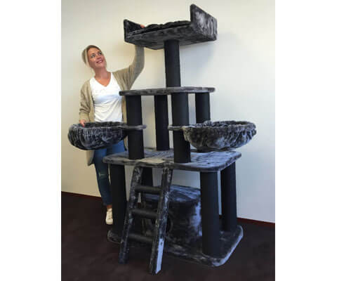 cat tree king reviews, best cat tree for large cats small apartments