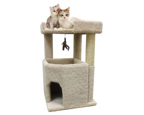 cosy cat tree, cat tree for very large cats