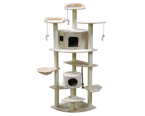 go pet club cat tree reviews, sturdy cat tree for large cats