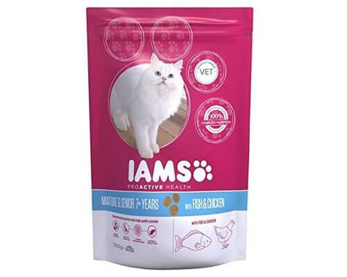 Iams Senior & Mature Dry Cat Food
