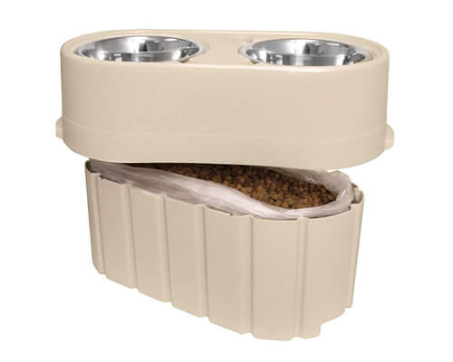 Our Pets Store N Feed Dog Bowl