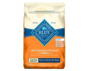 blue buffalo life protection formula, best food for dog shedding