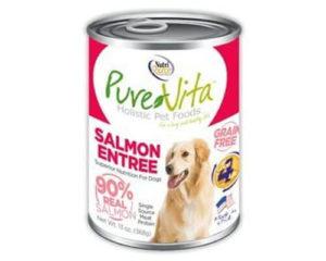pure vita grain free dog food, top rated dog food for shedding