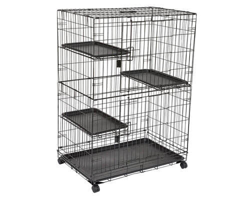 AmazonBasics Rat Cage Playpen Box Crate Kennel