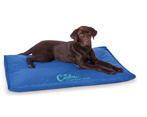 k&h coolin' comfort bed, dog cooling mat