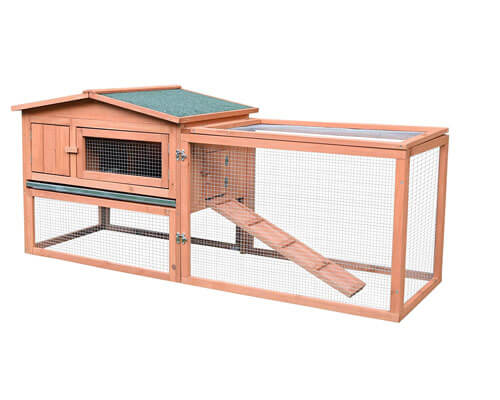 pawhut rabbit hutch, best diy rabbit hutch