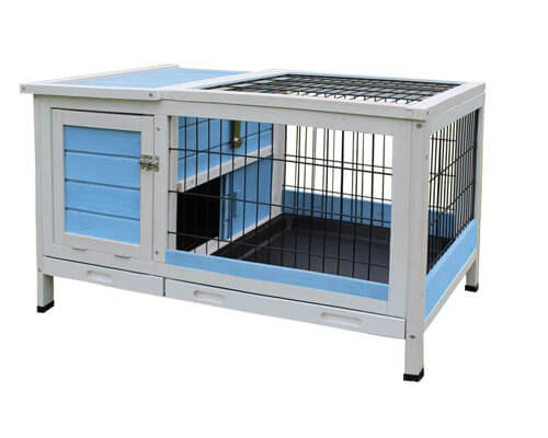 rockever rabbit hutch, best outdoor rabbit hutch
