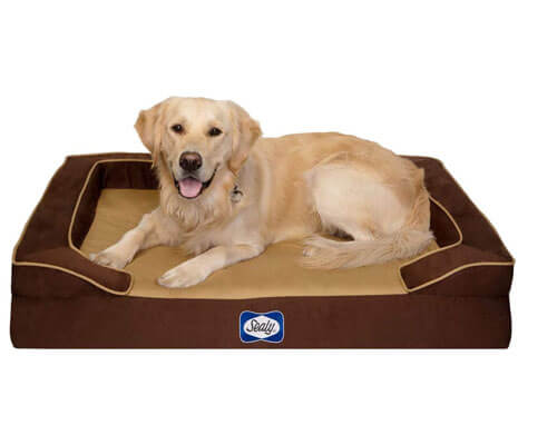 sealy lux cooling dog bed, top dog cooling mat