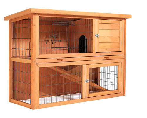 smithbuilt rabbit hutch, rabbit indoor house
