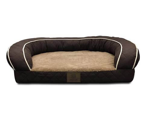 AKC Sweet Dreams Jumbo Pet Couch, top quality couch for dogs