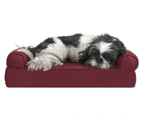 furhaven pet dog bed, top rated couch for dogs, best couch for dogs