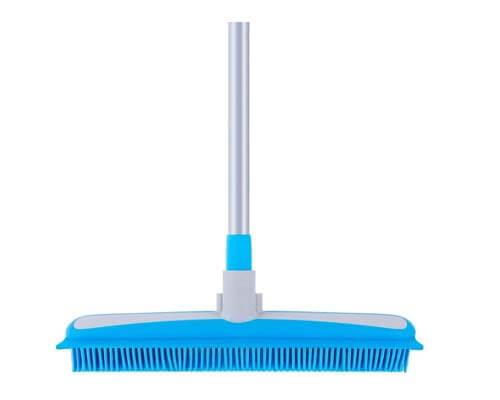 mr siga rubber broom, cheap broom for dog hair