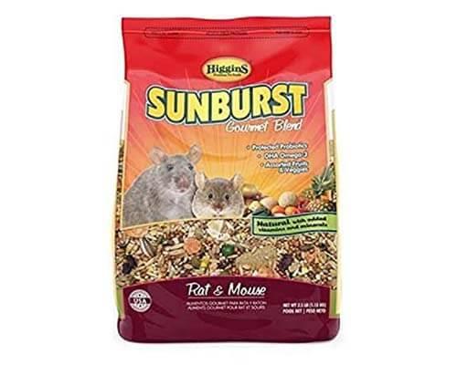 higgins sunburst rat food, best cheap rat food, best rat food