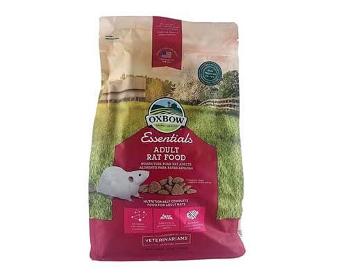 oxbow rat food, best rated rat food